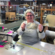 Dressmaker, Textile, Tailor, Glasses, Factory, Eyewear, Art, Sewing, Sewing machine,