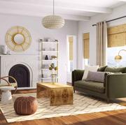 modsy living room design   elle decor