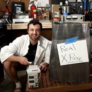 homemade xray machine, man builds diy xray machine