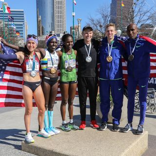top 6 american finishers at the olympic marathon trials in atlanta 2020
