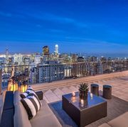 Property, Roof, Sky, Real estate, Building, Daytime, Architecture, City, Apartment, Metropolitan area,