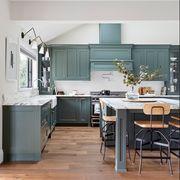 Countertop, Furniture, Room, Kitchen, Cabinetry, Property, Interior design, Floor, Building, Ceiling,