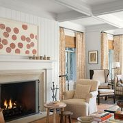 Living room, Room, Furniture, Interior design, Property, Coffee table, Fireplace, Building, Table, Home,