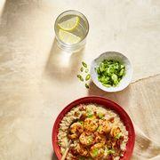 shrimp and cheesy oats