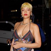 rihanna in nyc on august 12