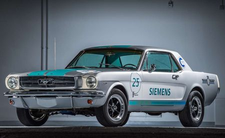 This Autonomous 1965 Ford Mustang Is Going to Drive Itself in a Hill-Climb