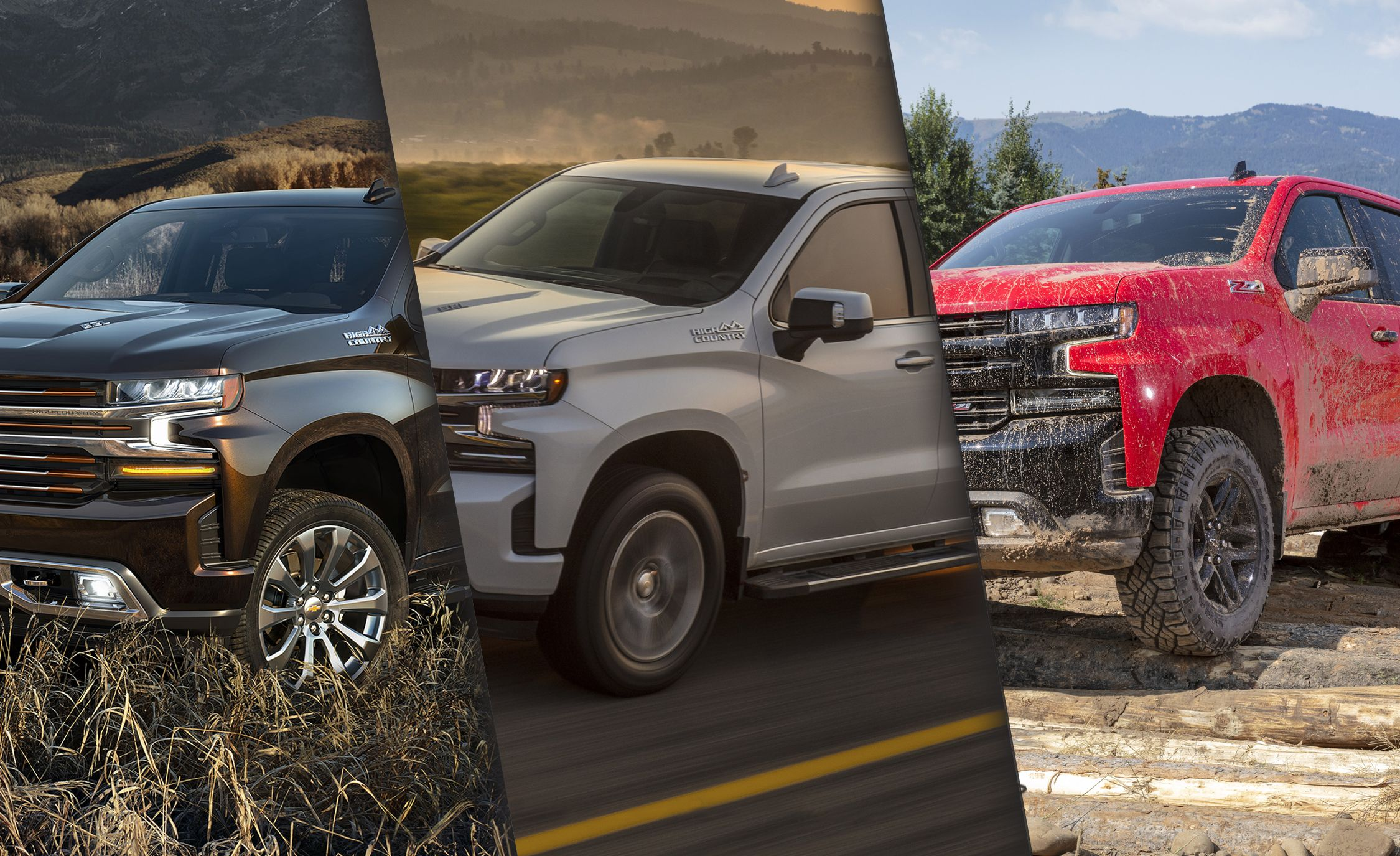 The Spotter's Guide to Every 2019 Chevrolet Silverado 1500 Trim Level