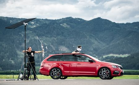 Skoda's Fast Octavia Wagon Helped Set a Guinness World Record