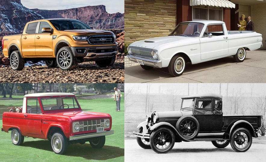 Beyond the Range: The Visual History of Ford's Compact Pickups - Slide 1
