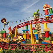 Slinky Dog Dash in Toy Story Land