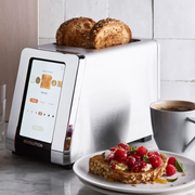 automatic pan stirrer and smart toaster