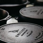 smithey ironware skillet logos