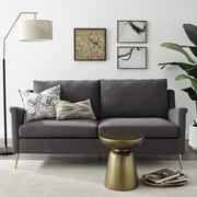 dark gray sofa
