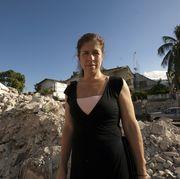 danielle butin in haiti in 2010