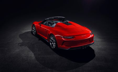 Porsche 911 Speedster Confirmed for Production as a Send-Off for the 991