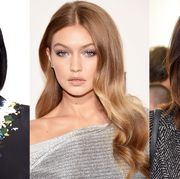 Hair, Face, Hairstyle, Eyebrow, Lip, Blond, Hair coloring, Beauty, Skin, Brown hair,