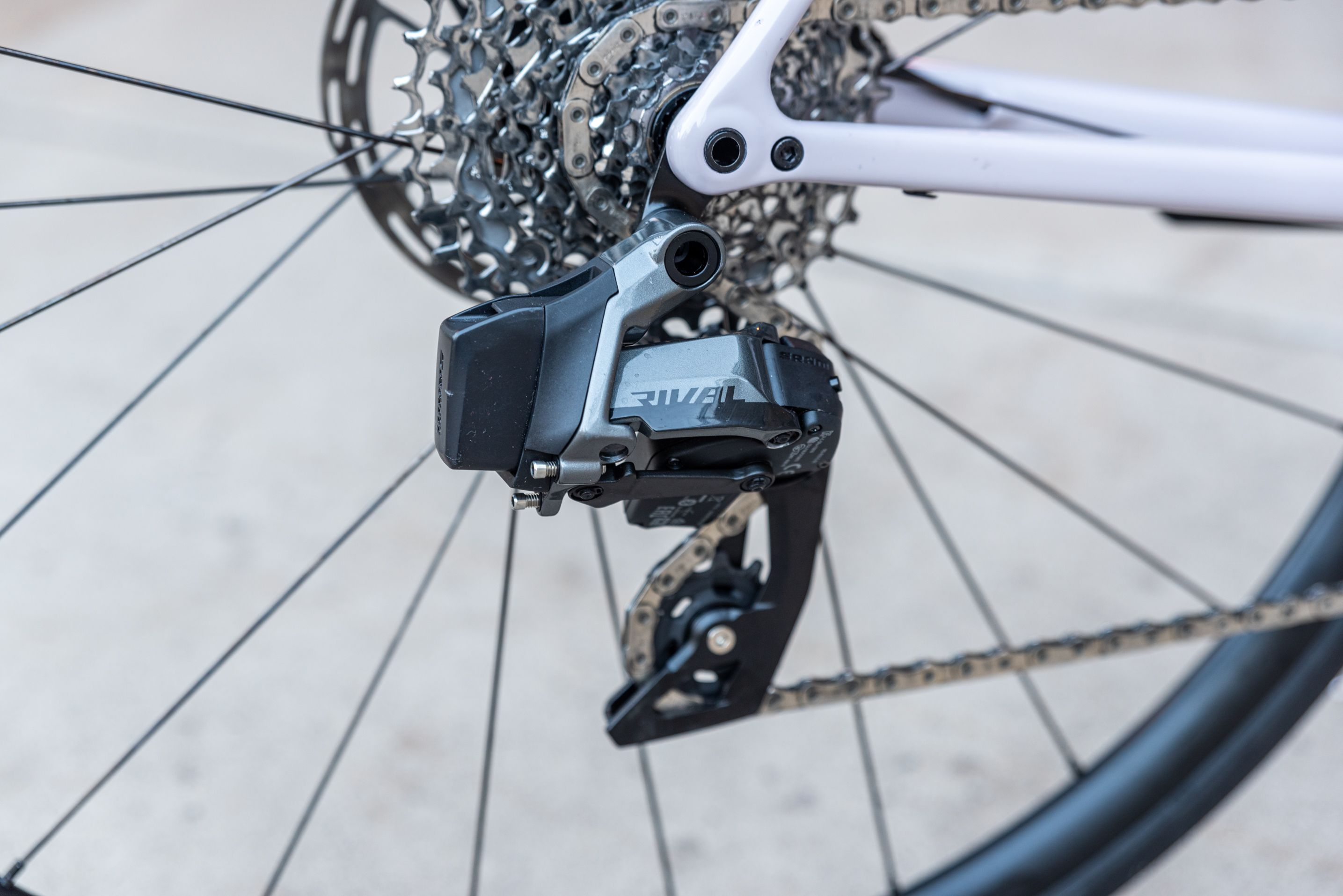 Rival AXS derailleurs use the same motors and electronics as Force/Red AXS derialleurs.