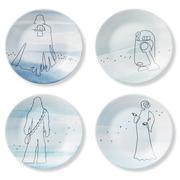 star wars plates corelle
