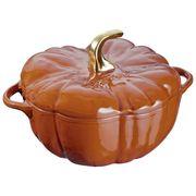 staub pumpkin cocotte