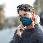 stay safe and wear a face mask