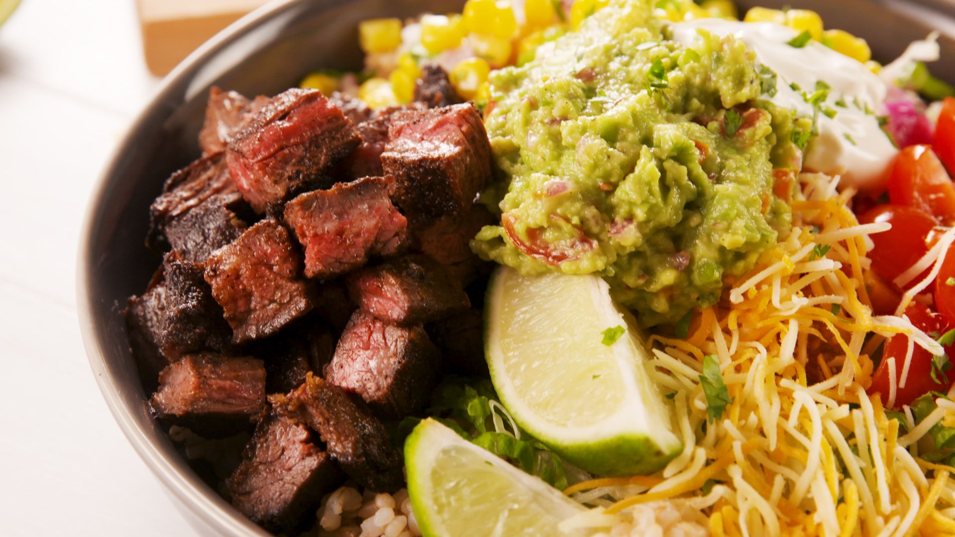 Best Grilled Steak Burrito Bowls Recipe How To Make Grilled Steak Burrito Bowls