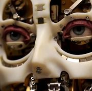 disney research's robot with realistic eye movements