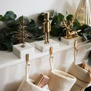 west elm stocking holder