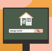 Green, House, Illustration, Line, Home, Sign, Signage, Rectangle, Art,