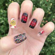 Nail, Nail polish, Manicure, Nail care, Finger, Cosmetics, Hand, Design, Visual arts, Material property,