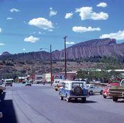 street scene in durango, colorado