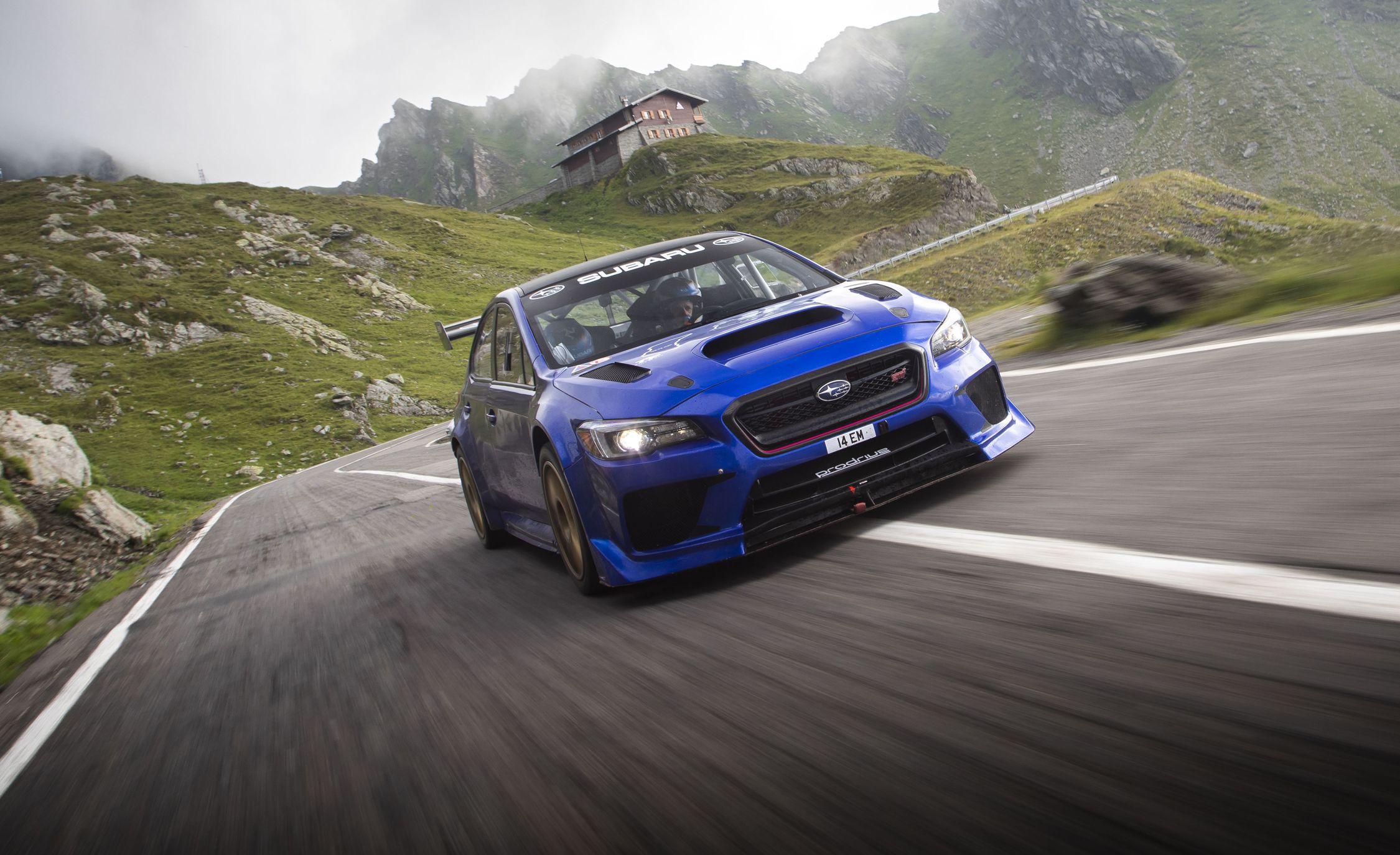 Subaru WRX STI Type RA Time Attack Makes a Record Run in the Romanian Mountains