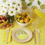 Yellow, Fruit, Food, Plant, Plate, Tableware, Vegetarian food, Still life, Dishware, Produce,