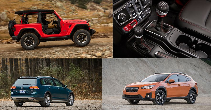 Every Crossover and SUV Available with a Manual Transmission in 2018 - Slide 1