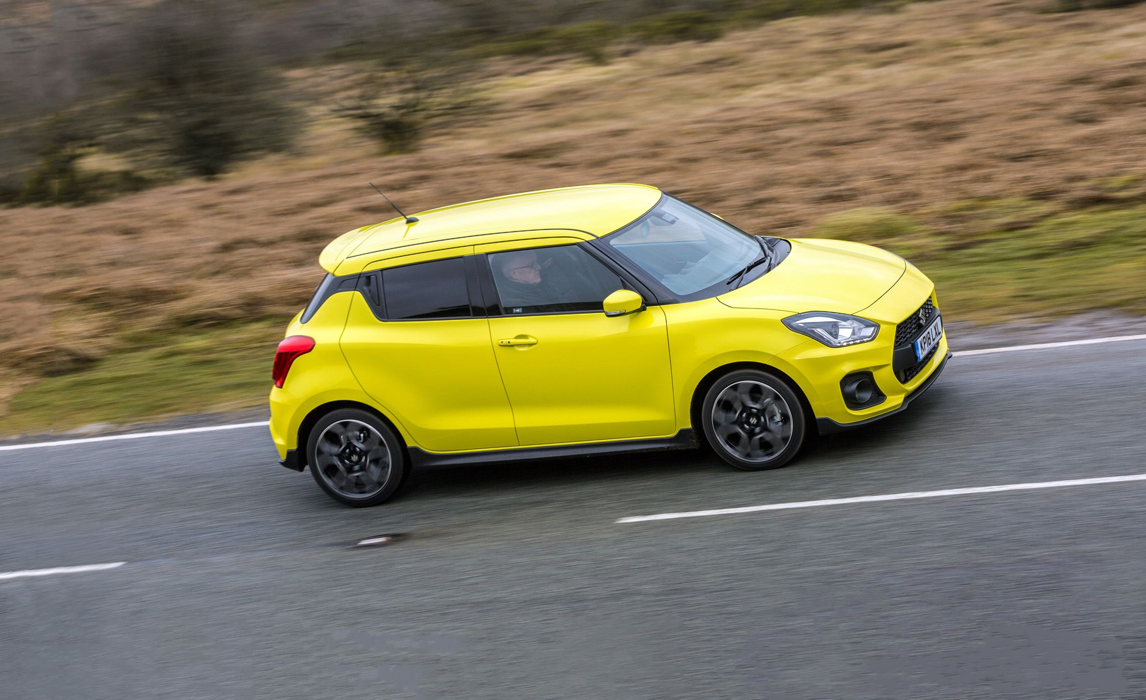 2018 suzuki swift sport first drive it s kinda like a. Black Bedroom Furniture Sets. Home Design Ideas