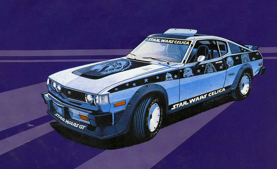 An Enigma Parked in a Black Hole: The Mystery of the Toyota Celica GT Star Wars Edition Giveaway Car