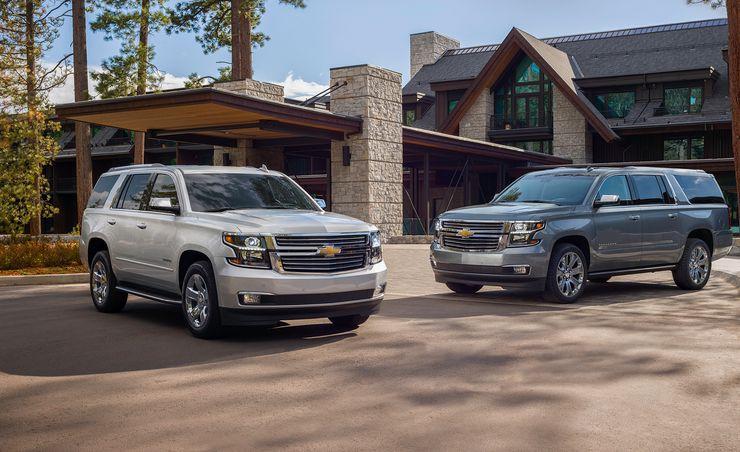 2019 Chevrolet Tahoe and Suburban Premier Plus Grab the 6.2-Liter V-8