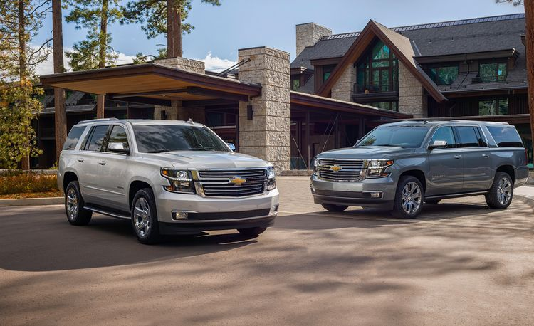 2019 Chevrolet Tahoe and Suburban Premier Plus Grab the 6.2-Liter V-8