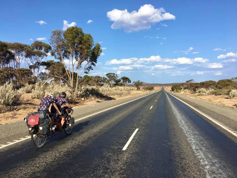 Cat Dixon and Raz Marsden women's tandem cycling world record