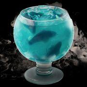 Blue lagoon, Blue hawaii, Aqua, Blue, Turquoise, Drink, Hpnotiq, Glass, Water, Curaçao,