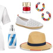 White, Clothing, Footwear, Uniform, Dress, Brand, Sleeve, Shoe, Style,