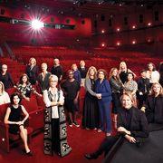 academy museum board in the david geffen theater