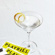 martini and a show