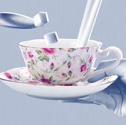 Cup, Teacup, Porcelain, Saucer, Tableware, Serveware, Cup, Coffee cup, Drinkware, Ceramic,