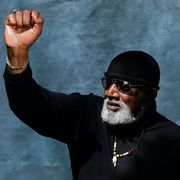 dr harry edwards, 78, a sports sociologist, civil rights activist, and professor emeritus of sociology at the university of california, berkeley, poses for a portrait at san jose state university on thursday, may 20, 2021, in san jose, calif in 1968 edwards was the the leader of the olympic project for human rights ophr
