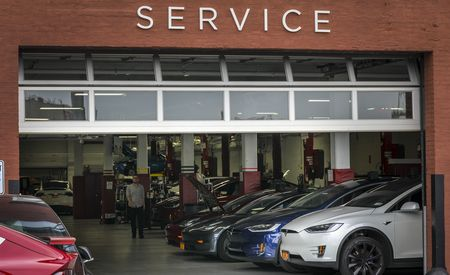 """Elon Musk, Driven """"Crazy"""" by Outside Body Shops, Says He's Taking Tesla Repairs in House"""