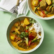 Thai Beef and Vegetable Curry