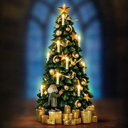the bradford exchange harry potter hogwarts illuminated musical tabletop tree