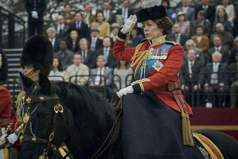 the crown season 4 scenes, real life royal photos