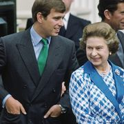 sarah andrew and queen at clarence house