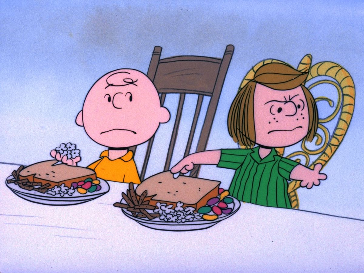 <em>A Charlie Brown Thanksgiving</em> originally aired on CBS in 1973.